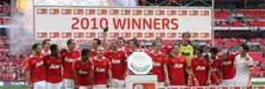 El Manchester de Chicharito consigue la Community Shield 3