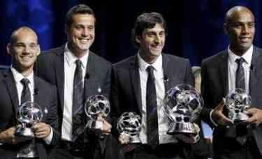 Elección de mejores jugadores Champions League 2009/2010
