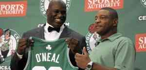 Shaq ya está en Boston 3