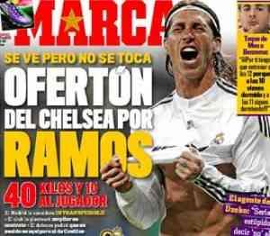 El Chelsea quiere a Sergio Ramos 3