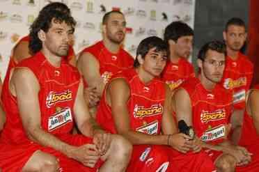 seleccion española baloncesto en vitoria