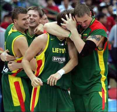 seleccion lituania baloncesto