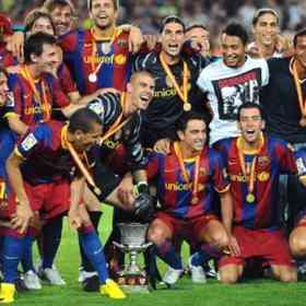 El Barcelona gana la Supercopa de España 3