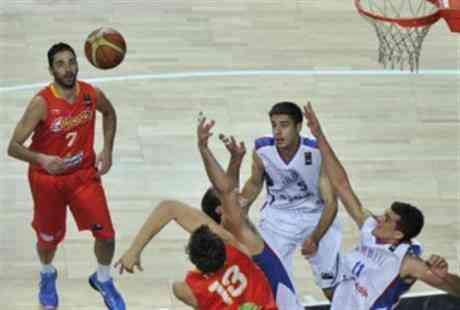España cae ante Serbia en los cuartos 3