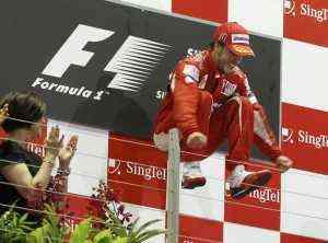 Alonso logra la victoria en malasya