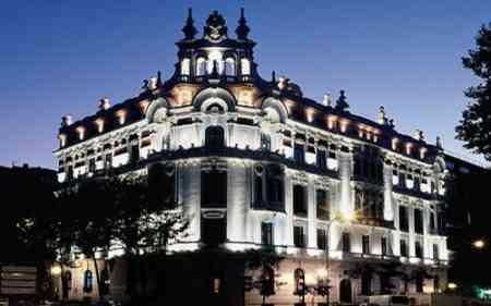 Ac palacio del retiro hotel de lujo en madrid lujo vip for Fachadas de hoteles de lujo