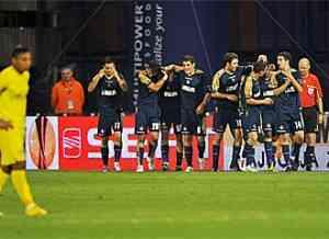 Villarreal pierde frente al dinamo de zagreb