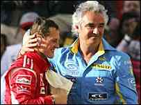 Briatore critica la vuelta de Michael Schumacher 3