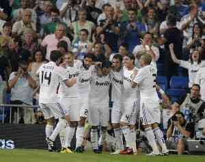 El Madrid gana con un gol de Carvalho 3