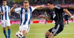El Madrid gana a una correosa Real Sociedad 3
