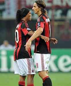 El Milan gana con goles de Ibrahimovic 3
