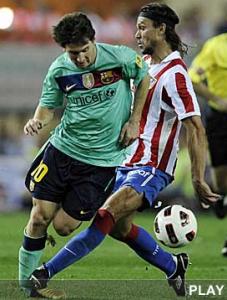 La lesión de Messi, ¿una lesión fortuita?