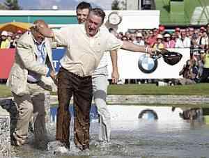 Miguel Ángel Jiménez gana el torneo de golf de Suiza 3