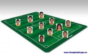Once ideal Barcelona temporada 2010 / 2011
