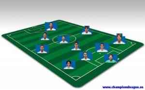 once ideal real madrid temporada 2010 / 2011