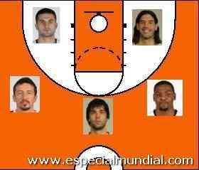 quinteto ideal mundial turquia 2010