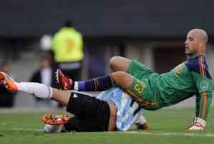 España es goleada ante Argentina 3