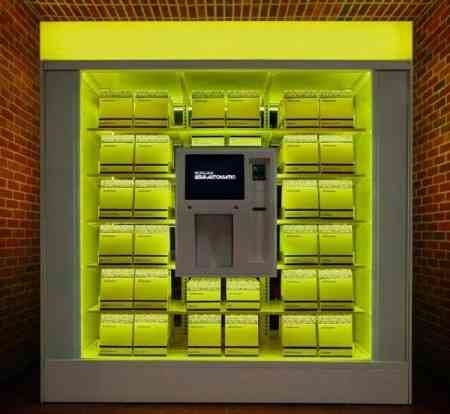 Máquina de vending para un hotel de lujo 3