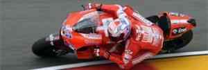 Stoner, Iannone y Marc Márquez consiguen la pole en Aragón 3
