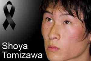 Tomizawa fallece en un accidente durante la carrera en San Marino 3