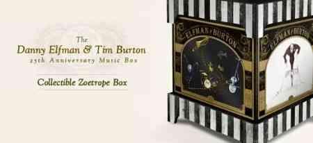 Caja musical de Tim Burton y Dani Elfman