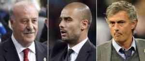El mejor entrenador FIFA saldrá del trio Guardiola, Del Bosque y Mourinho 3