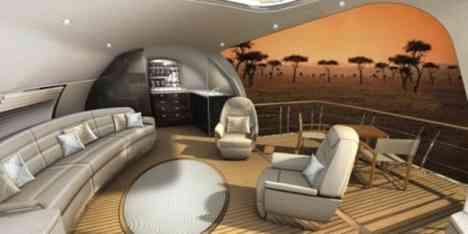 El jet privado más lujoso del mundo