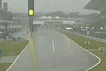 La lluvia aplaza la clasificación del Gran Premio de Japón