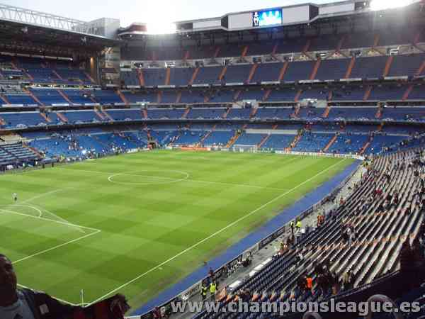 Santiago Bernabeu Champions League