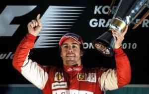 Alonso gana en Corea y los Red Bull no puntúan 3
