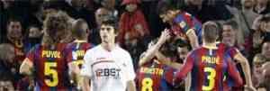 El Barcelona se pasea ante el Sevilla 3