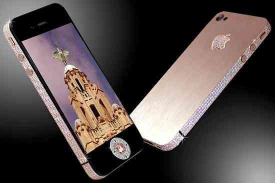 El celular más caro de todos: un iPhone 4 de 4 millones de dólares 3