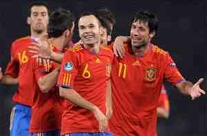 España gana a Escocia con emoción