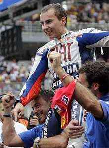lorenzo campeón del mundo de moto gp