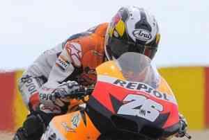 Pedrosa se rompe la clavícula en el Gran Premio de Japón