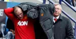 Divorcio entre Rooney y Alex Ferguson