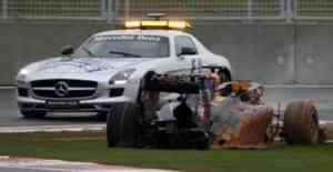El accidente de Webber y una suposición 3
