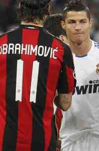 Milan Real Madrid en Champions League