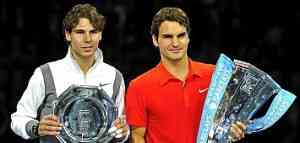 Rafa Nadal no pudo con Federer 3
