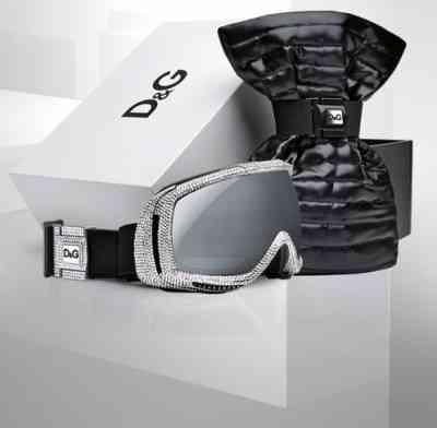 Esquí de lujo con D&G y Swarovski 6