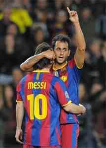 barcelona derrota al rubin