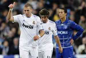 real madrid vence al auxerre