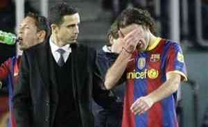 Gabi Milito quiere minutos fuera del Barcelona 3