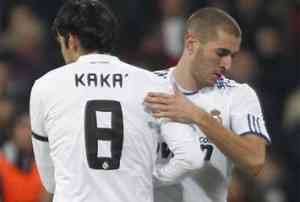 Kaká vuelve al once titular por Benzema 3