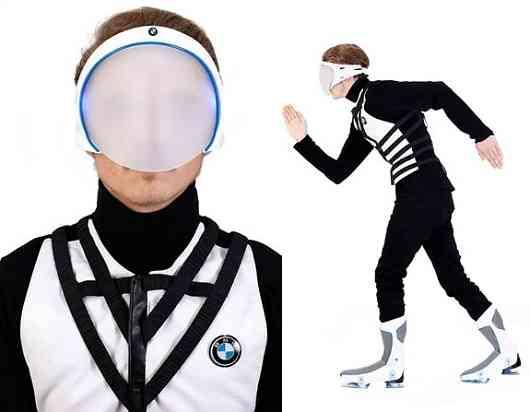 El traje que te transporta: diseños del IED para BMW 20