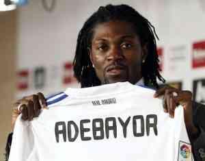 Adebayor ficha por el Real Madrid