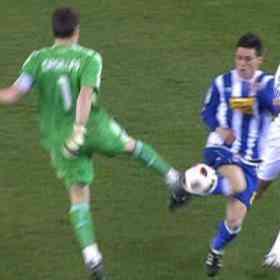 Casillas tiene la expulsión más rápida en la historia del Real Madrid 3