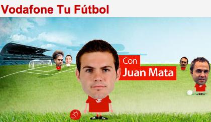 Entrevista a Juan Mata gracias a Vodafone Tu Fútbol 5