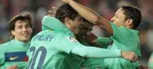 El Barcelona no perdona al Almeria 3