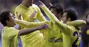 El Villareal pasa a la siguiente ronda 3